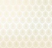 Seamless damask wallpaper. Vector. seamless damask  light pattern Royalty Free Stock Photo