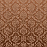 Seamless Damask Wallpaper. The vector shape can be repeated seamless.The photo also, but the gradient background will mess it up Royalty Free Stock Image