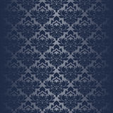 Seamless damask Wallpaper for design Stock Photography