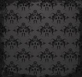 Seamless damask wallpaper for you design Stock Image
