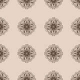Seamless Damask wallpapern. Seamless Damask wallpaper. Vintage pattern vector set vector illustration