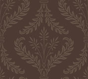Seamless Damask Web Background Stock Photography