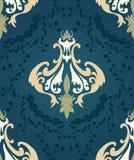 seamless damastast modell Royaltyfria Bilder