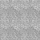 seamless damastast modell beståndsdel 3D med skugga och viktig vektor illustrationer