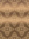 Seamless damastast wallpaper Royaltyfria Bilder