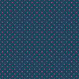 Seamless dark blue and burgundy square polka dots pattern vector. Seamless dark blue and burgundy square polka dots pattern Royalty Free Stock Photos
