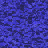 Seamless dark blue tiles Royalty Free Stock Images