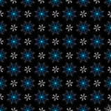 Seamless dark christmas pattern Royalty Free Stock Images