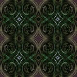 Seamless dark diamond pattern green purple brown Royalty Free Stock Photography
