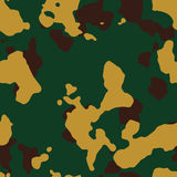 Seamless dark green camo. Pattern Royalty Free Stock Image