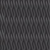 Seamless dark grey geometric texture Royalty Free Stock Images