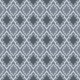Seamless dark grey oriental vector pattern. Wallpaper design Royalty Free Stock Photography