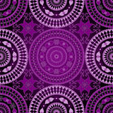 Seamless dark lace pattern Stock Photos