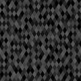 Seamless dark neutral pixel background Royalty Free Stock Image