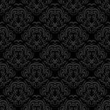 Seamless dark pattern Stock Photography