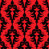 Seamless dark pattern Stock Images