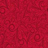 Seamless dark red pattern Stock Photo