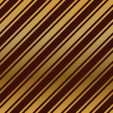 Seamless dark red wallpaper with diagonal gold stripes. Vector background Royalty Free Stock Image