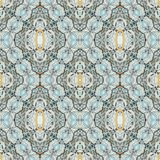Seamless decorative abstract  pattern Royalty Free Stock Image
