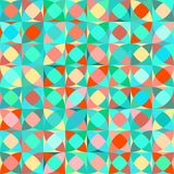 Seamless decorative abstract  pattern Royalty Free Stock Images