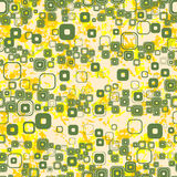 Seamless decorative background. Vector wallpaper Royalty Free Stock Images