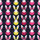 Seamless decorative  background with Easter eggs. Print. Cloth design, wallpaper. Royalty Free Stock Images