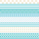Seamless decorative  background with geometric shapes Stock Photos