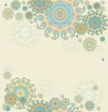 Seamless decorative background Royalty Free Stock Photography