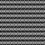 Seamless decorative  background with with zigzag lines Stock Image