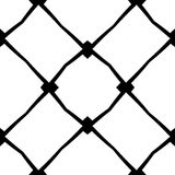 Seamless decorative black pattern Royalty Free Stock Photography