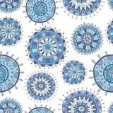 Seamless decorative Christmas pattern Stock Photo