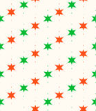 Seamless decorative christmas pattern Stock Photography