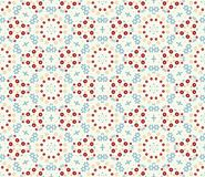 Seamless decorative color retro pattern Stock Photography