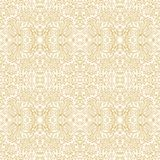 Seamless decorative floral pattern Stock Images