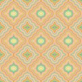 Seamless decorative geometric pattern Royalty Free Stock Image
