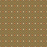 Seamless decorative geometrical motifs Royalty Free Stock Photography