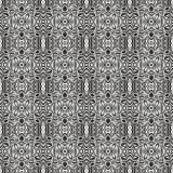 Seamless decorative laced pattern Stock Photos