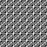 Seamless decorative pattern. Stock Photography