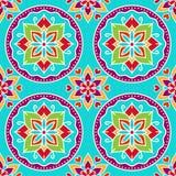 Seamless decorative pattern Royalty Free Stock Photos