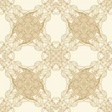 Seamless decorative pattern in arabic style Royalty Free Stock Photos