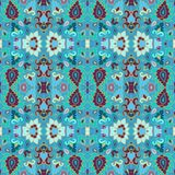 Seamless decorative pattern in arabic style Royalty Free Stock Photography