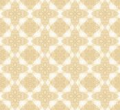 Seamless decorative pattern in arabic style Stock Images