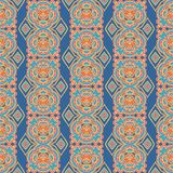 Seamless decorative pattern in arabic style Royalty Free Stock Photo