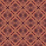 Seamless decorative pattern in arabic style Stock Photos
