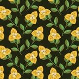 Seamless decorative pattern Stock Photography