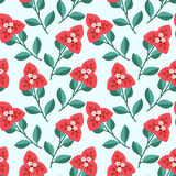 Seamless decorative pattern Royalty Free Stock Photography