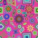 Seamless decorative pattern, design ornament. Vector. Royalty Free Stock Photos