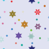 Seamless decorative pattern, design ornament. Vector. Royalty Free Stock Images