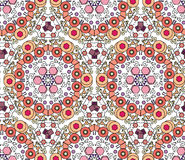 Seamless decorative pattern, design texture. Vector. Royalty Free Stock Images