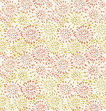 Seamless decorative pattern  Endless hand drawn ba Stock Image